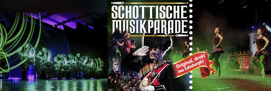 Tickets, Tickets, Konzertkarten Schottische Musikparade & The Scottish Musicparade
